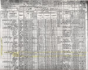 1900 US Census I Kisinowsky family